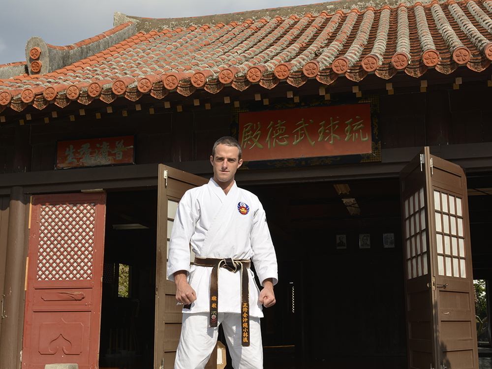 Karate instructorKevin Chaplin. Photo: Repeat Traveller