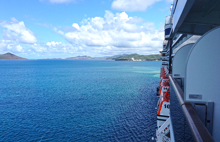 Arriving in Noumea, New Caledonia. Photo: Chris Ashton