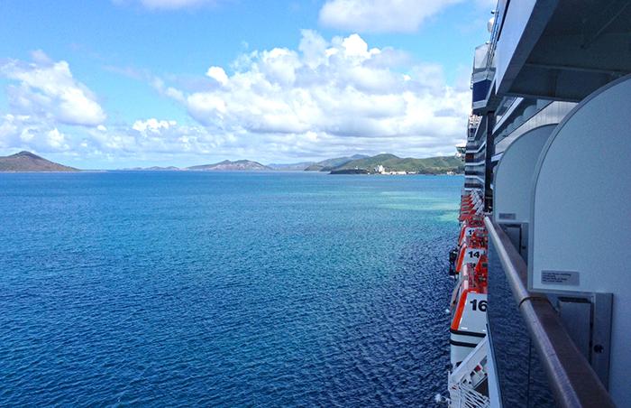 Arriving in Noumea, New Caledonia. Photo: Chris Ashton