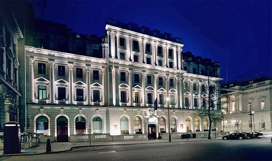 Exterior of the Sofitel St James London. Photo: Accor Hotels
