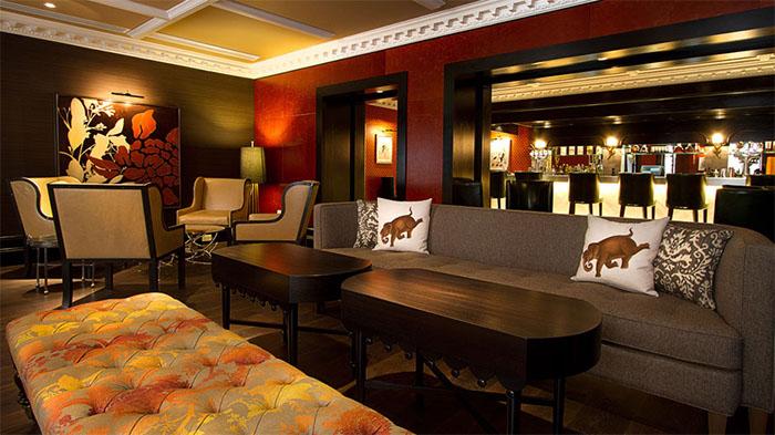 Caxton's Bar. Photo: St Ermin's Hotel