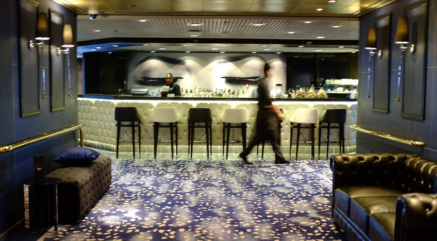 The Blue Room Bar. Photo: Chris Ashton