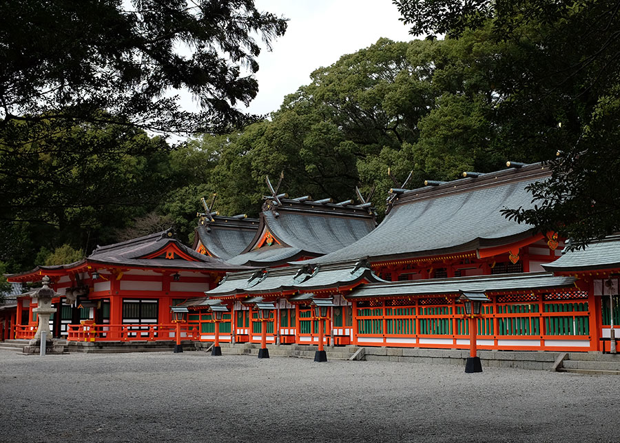 The grounds of Kumano Hayatama Taisha