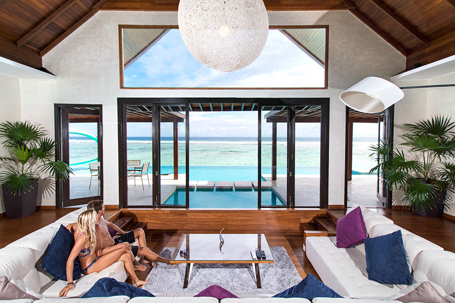 The Maldives Resort Designed Especially for Surfers