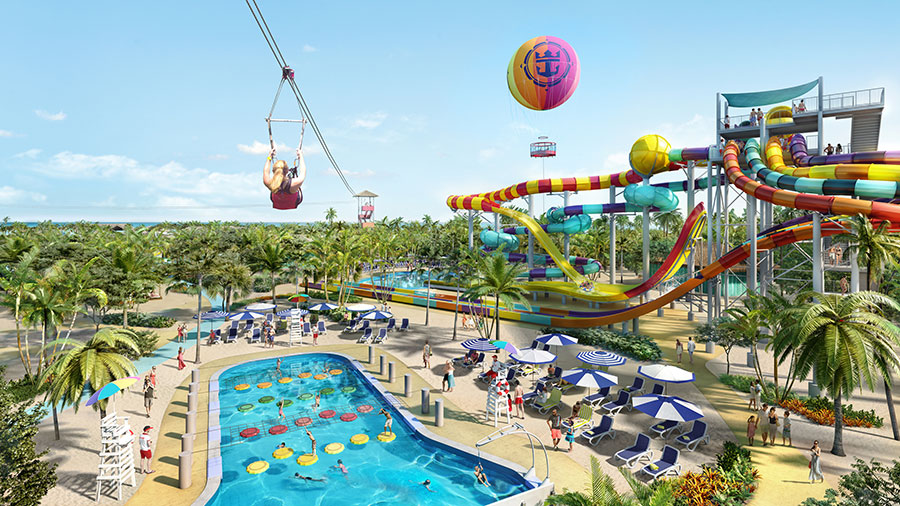 Royal Caribbean announce exclusive private islands